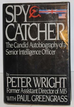 Spy Catcher by Peter Wright - 0670820555